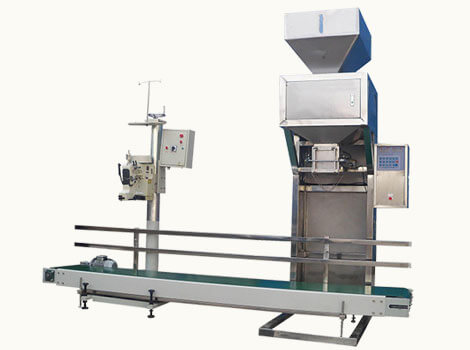 wood pellet weighing & packing system