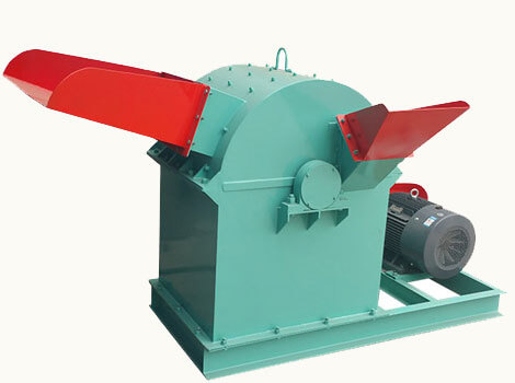 double inlet wood crusher