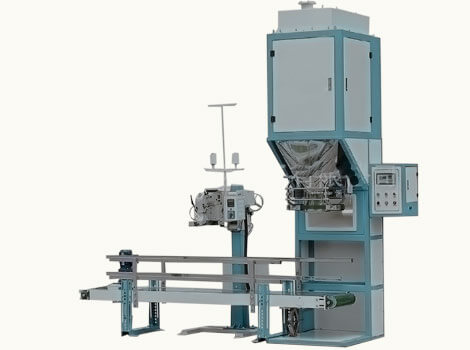 feed pellet weighing & packaging system