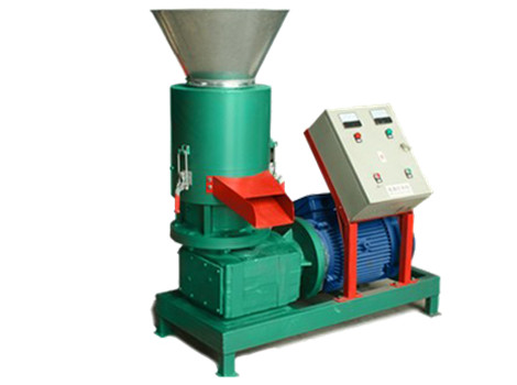 electric flat die pellet machine